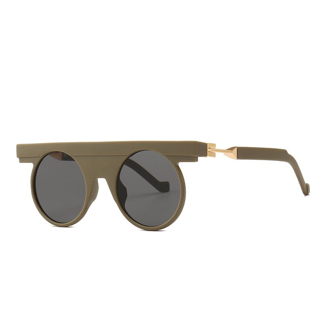 Pirend - C5 Rubber. Gray - Men's Sunglasses - Steampunk Sunglasses - Crissado