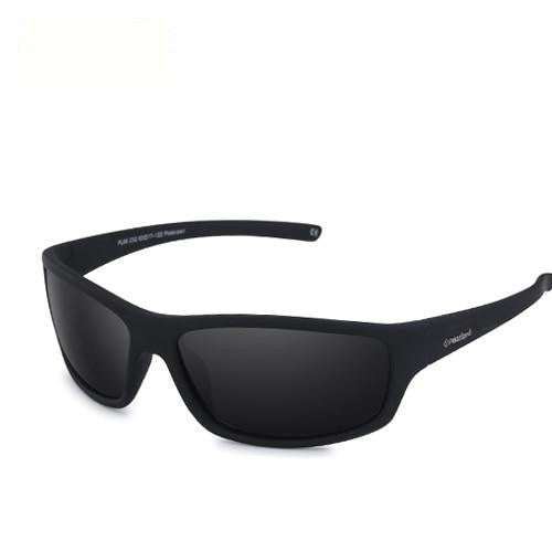 Terminator - Matte Black Smok - Men's Sunglasses - Celebrity Sunglasses - Crissado