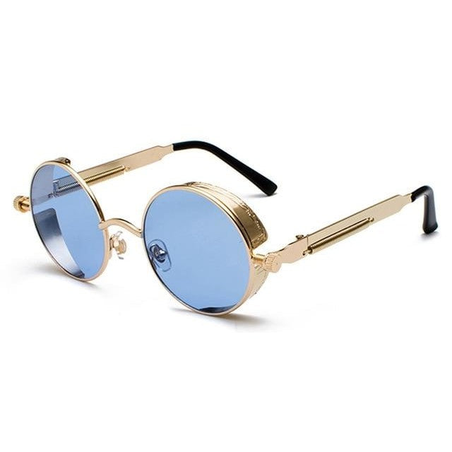 Coop-Clear Blue / as show in photo-Men's Sunglasses-Steampunk Sunglasses-Lensuit