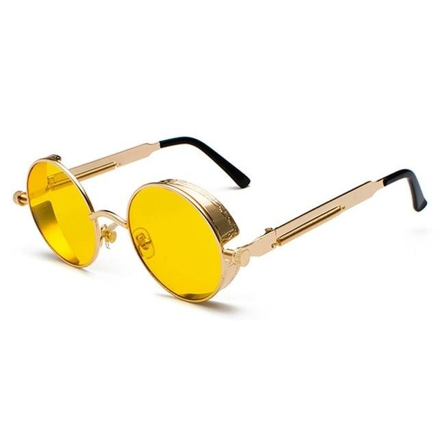 Coop-Yellow / as show in photo-Men's Sunglasses-Steampunk Sunglasses-Lensuit