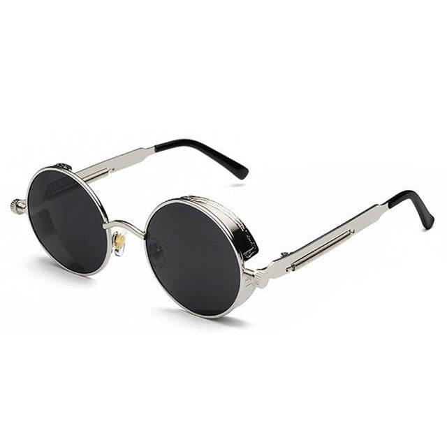 Coop-Silver - Black / as show in photo-Men's Sunglasses-Steampunk Sunglasses-Lensuit