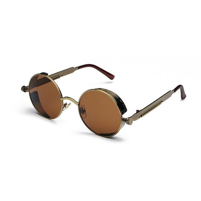 Coop-Brown / as show in photo-Men's Sunglasses-Steampunk Sunglasses-Lensuit