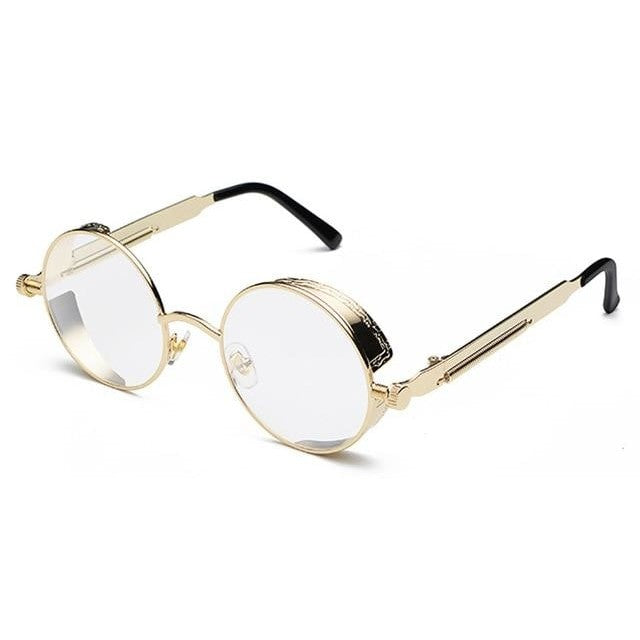 Coop-Gold / as show in photo-Men's Sunglasses-Steampunk Sunglasses-Lensuit
