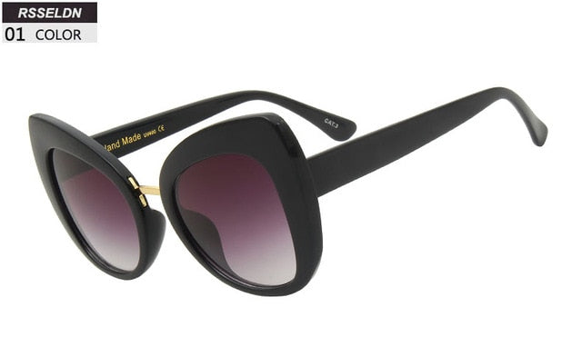 Roinad - 01 - Women's Sunglasses - Cat Eye Sunglasses - Crissado