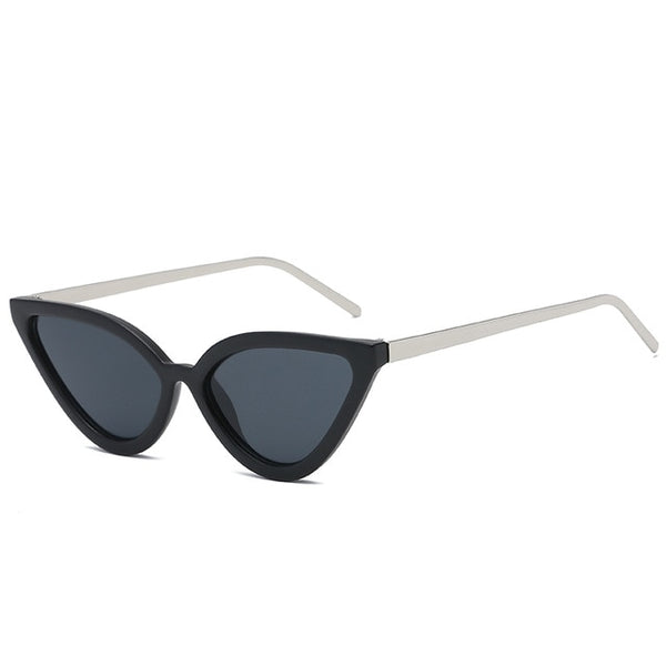 BROCKOVICH - matte black - Women's Sunglasses - Cat Eye Sunglasses - Crissado