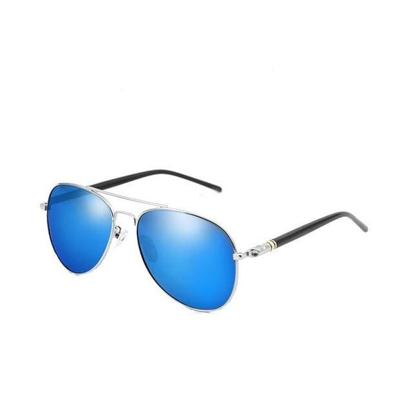 Burder - Silver Blue - Men's Sunglasses - Celebrity Sunglasses - Crissado
