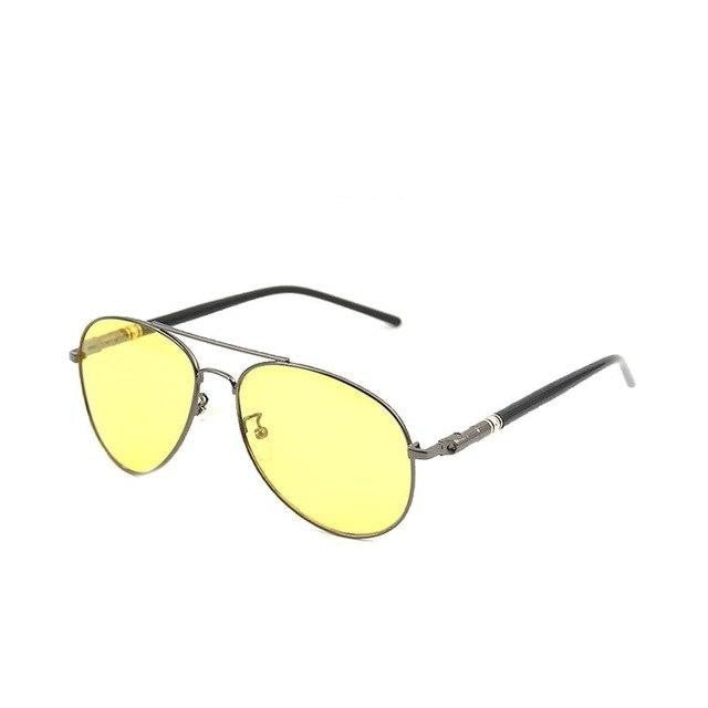 Burder - Grey NIght Vision - Men's Sunglasses - Celebrity Sunglasses - Crissado