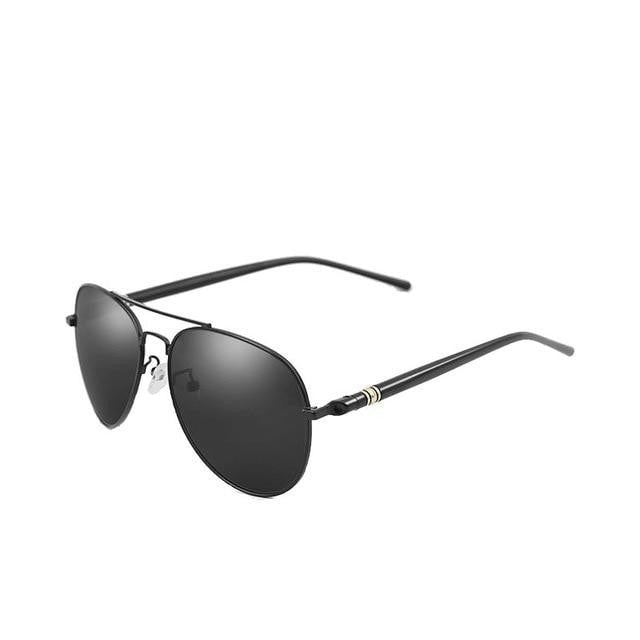 Burder - Black Grey - Men's Sunglasses - Celebrity Sunglasses - Crissado