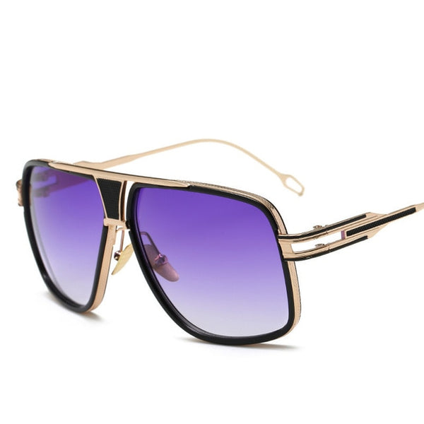 Entity - Purple - Men's Sunglasses -  - Crissado