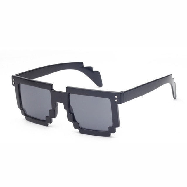 Doop Pixels Sunglasses-Black-Men's & Women's Sunglasses--Lensuit
