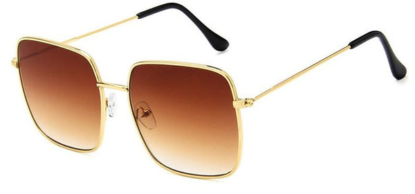 Laila - brown - Men's & Women's Sunglasses - Celebrity Sunglasses - Crissado