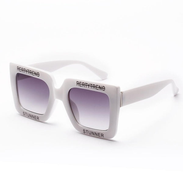 BIBI - White Gray - Women's Sunglasses -  - Crissado