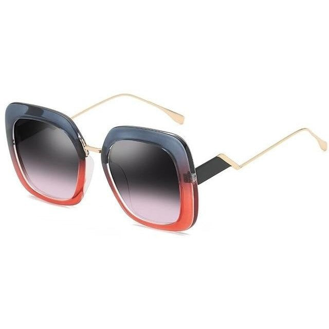Bailey - C8 black pink lens - Women's Sunglasses -  - Crissado