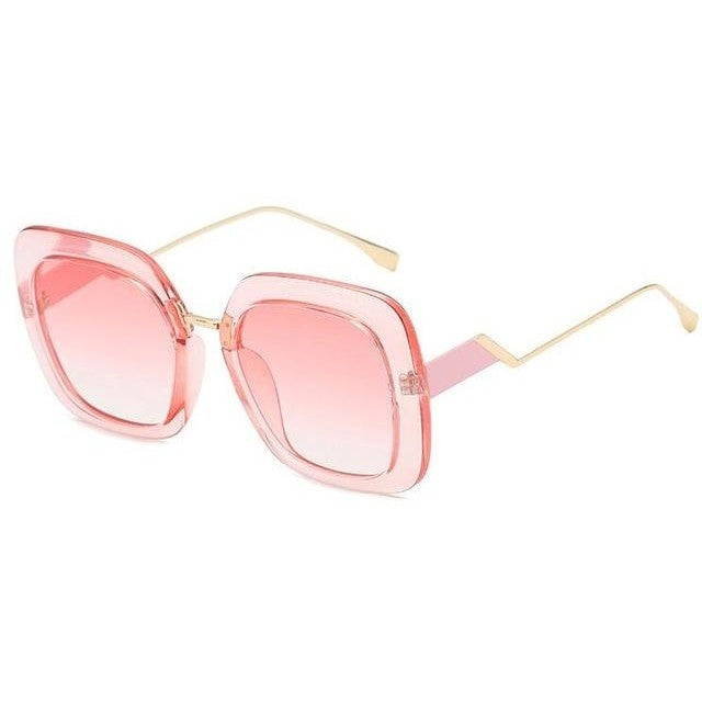 Bailey - C7 pink frame - Women's Sunglasses -  - Crissado