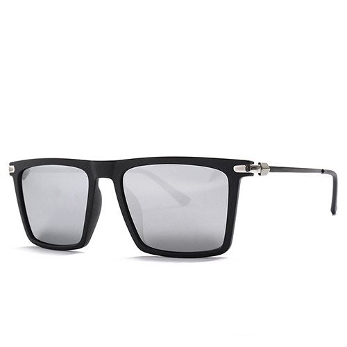 Jovaphile Sunglasses-C3 Black.Silver-Men's Sunglasses-Wayfarers-Lensuit