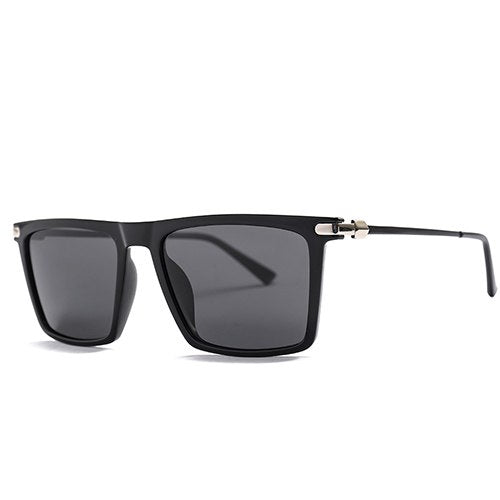 Jovaphile Sunglasses-C1 Glossyblack.Gray-Men's Sunglasses-Wayfarers-Lensuit