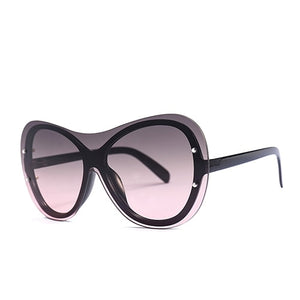 Goocrux Sunglasses-C2 Black.GrayRed-Women's Sunglasses--Lensuit