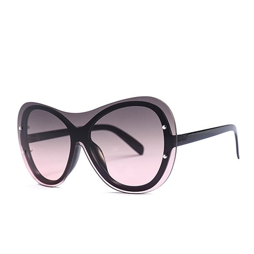 Goocrux - C2 Black.GrayRed - Women's Sunglasses -  - Crissado