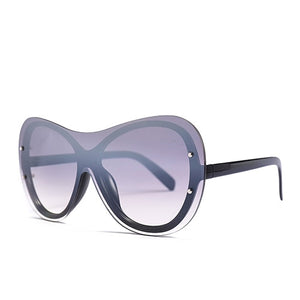 Goocrux Sunglasses-C4 Black.Clear gray-Women's Sunglasses--Lensuit
