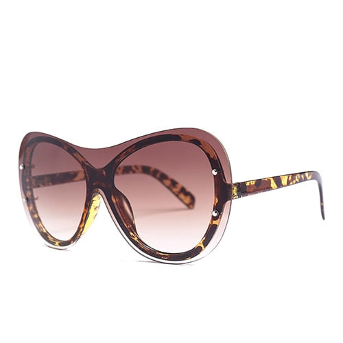 Goocrux Sunglasses-C5 Leopard.Tea-Women's Sunglasses--Lensuit