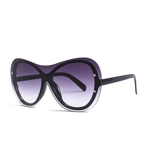 Goocrux Sunglasses-C1 Black.Gray-Women's Sunglasses--Lensuit