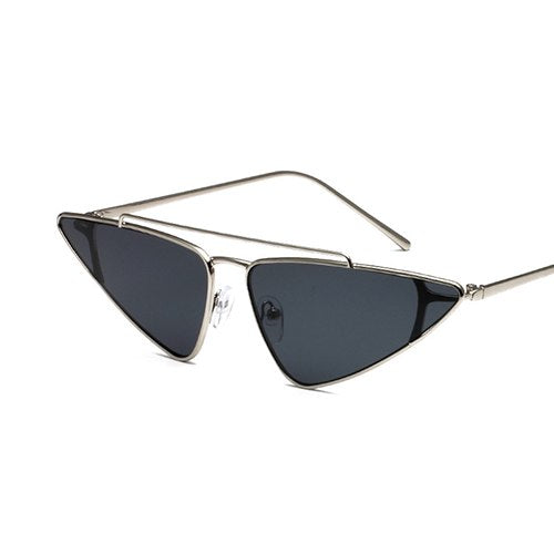 Goulbap Sunglasses-C3 Silver.Black-Women's Sunglasses-Vintage Sunglasses-Lensuit