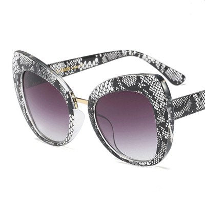 Castrealm - C3 Snake.Grey - Women's Sunglasses - Cat Eye Sunglasses - Crissado