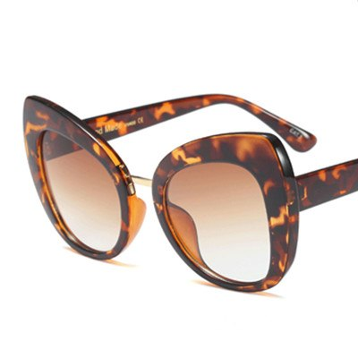 Castrealm - C5 YellowLeopard.Bro - Women's Sunglasses - Cat Eye Sunglasses - Crissado