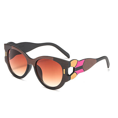 Vasagle - C5 TeaBlack.Tea - Women's Sunglasses - Cat Eye Sunglasses - Crissado