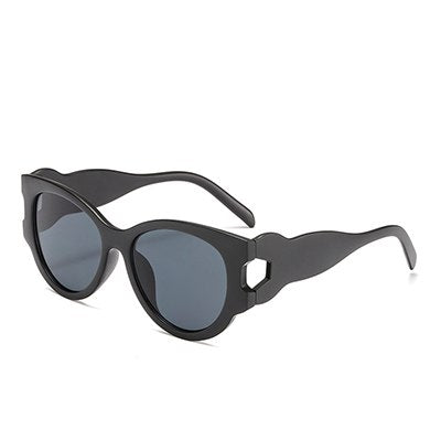 Vasagle - C1 Black.Gray - Women's Sunglasses - Cat Eye Sunglasses - Crissado