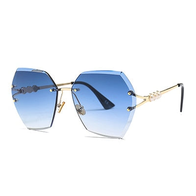 Hexteria Sunglasses-C3 Gradient blue.L-Women's Sunglasses-Vintage Sunglasses-Lensuit