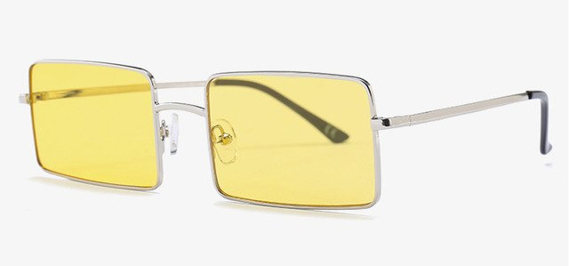 Naperone - C6 Silver Yellow - Men's & Women's Sunglasses - Vintage Sunglasses - Crissado