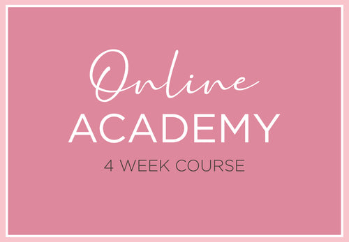 Mastering Your Makeup Online - 4 Week Course