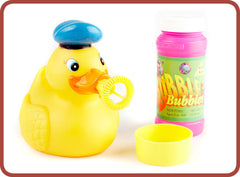 Squeezy Bubble Duck