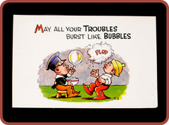 Vintage Bubble Postcards - Bubble Inc