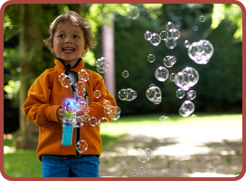 BUBBLISER - World's best Bubble Gun - Bubble Inc
