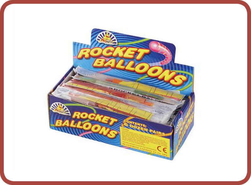 Rocket Balloons - Bubble Inc
