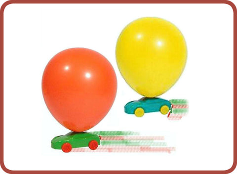 Balloon Racing Car