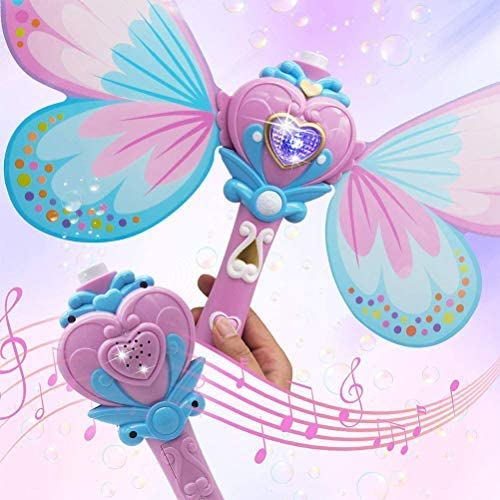 Fairy Butterfly Bubble Wand - Spillproof! - Bubble Inc