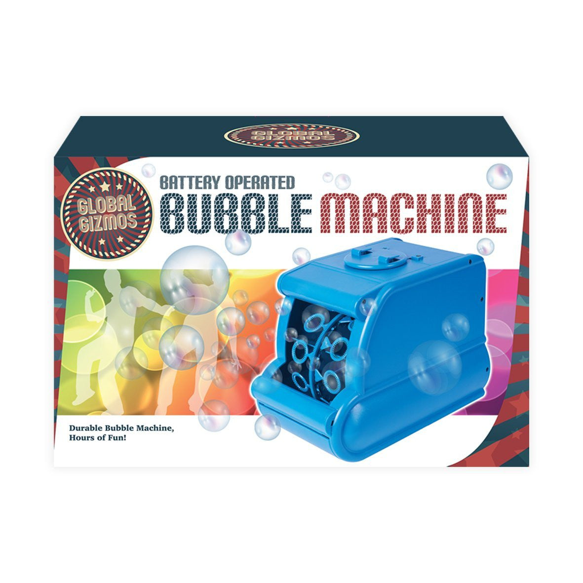 Portable Mini-Pro Bubble Machine - battery or mains! - Bubble Inc