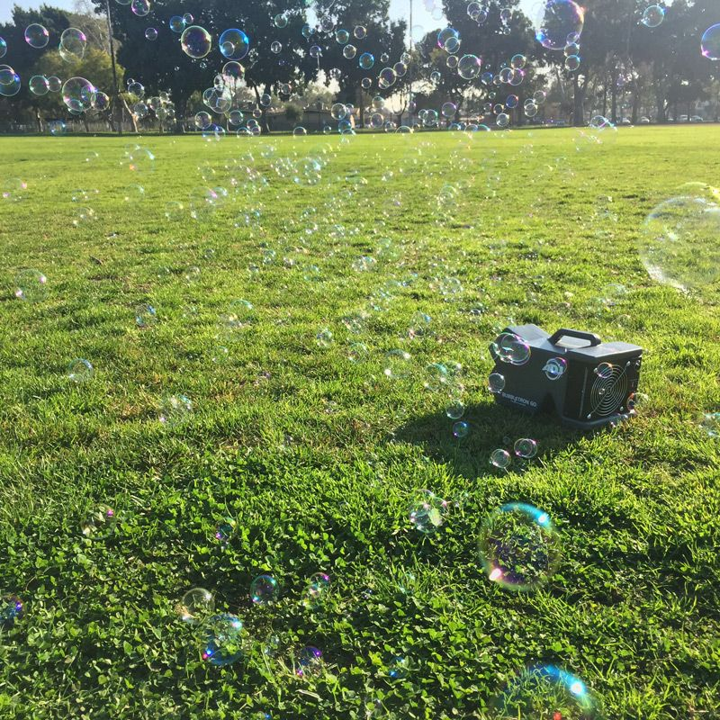 Battery Powered Pro Bubble Machine - Bubble Inc