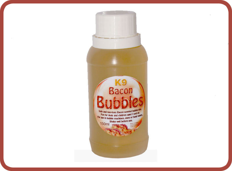K9 Doggy Bacon Bubbles - Bubble Inc
