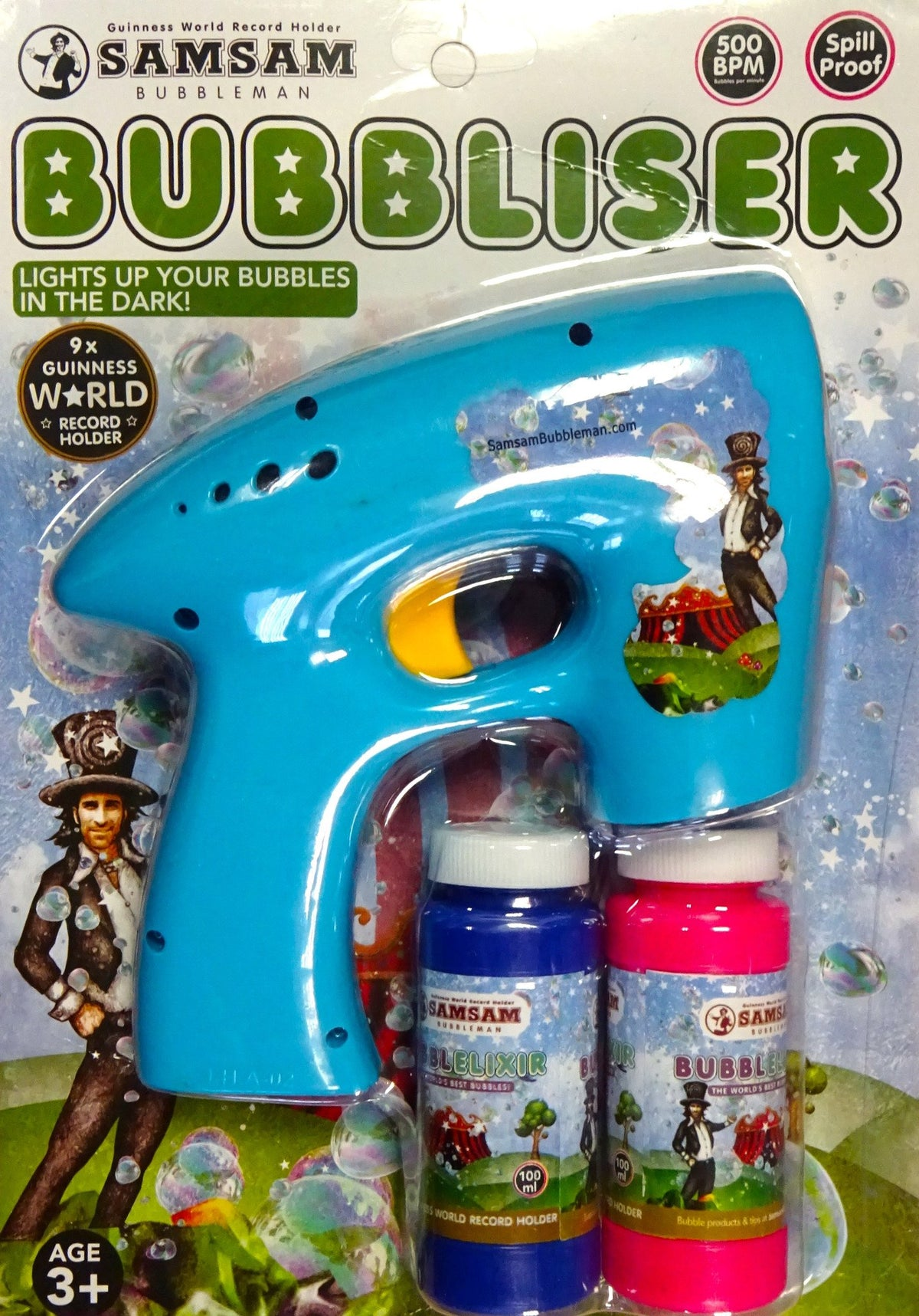 BUBBLISER! - World's best Bubble Gun - Bubble Inc