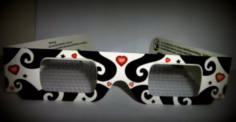 "3d Bubble ""Love"" glasses!"