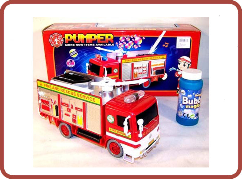 Pumper the Bubble Fire Engine - Bubble Inc