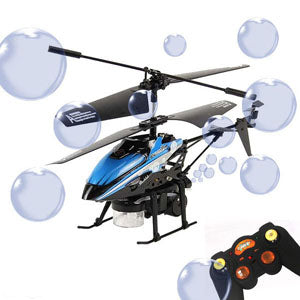 REMOTE CONTROLLED Bubble Helicopter!
