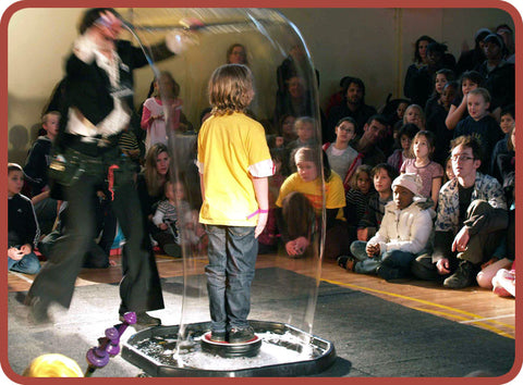 Giant Bubble Kids Parties