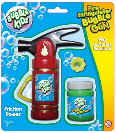 Fire Extinguisher Bubble Gun - Bubble Inc