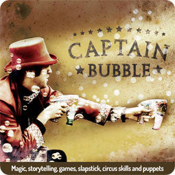 Bubble Inc Performers - Captain Bubble