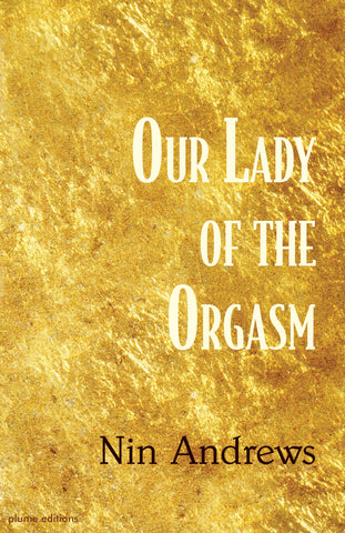 Our Lady of the Orgasm by Nin Andrews